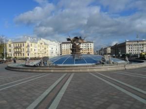 Минск. Площадь Независимости.