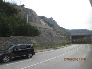 Дорога Севастополь - Ялта.