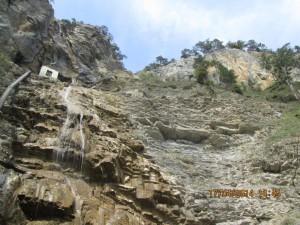 98-метровый водопад Учан-Су.