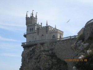 Ласточкино Гнездо - символ Ялты.