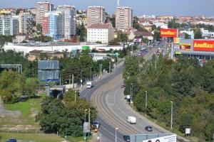 Вид на улицу Ходовска.