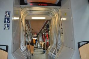Межпланетный трамвай. Вид изнутри.