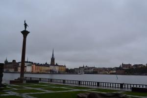 Стокгольм, страшно дорогой, но удивительно прекрасный.