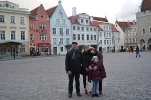 Малонаселенный город Таллин.