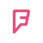 """Вам знаком такой значок социальной сети """"Foursquare""""?"""